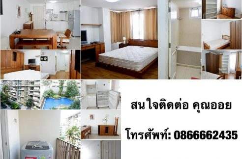 2 Bedrooms Condo For Rent at The Clover Thong lor 18. (Near Sky train Thong lor, J-Avenue (supper market) and Samitivej