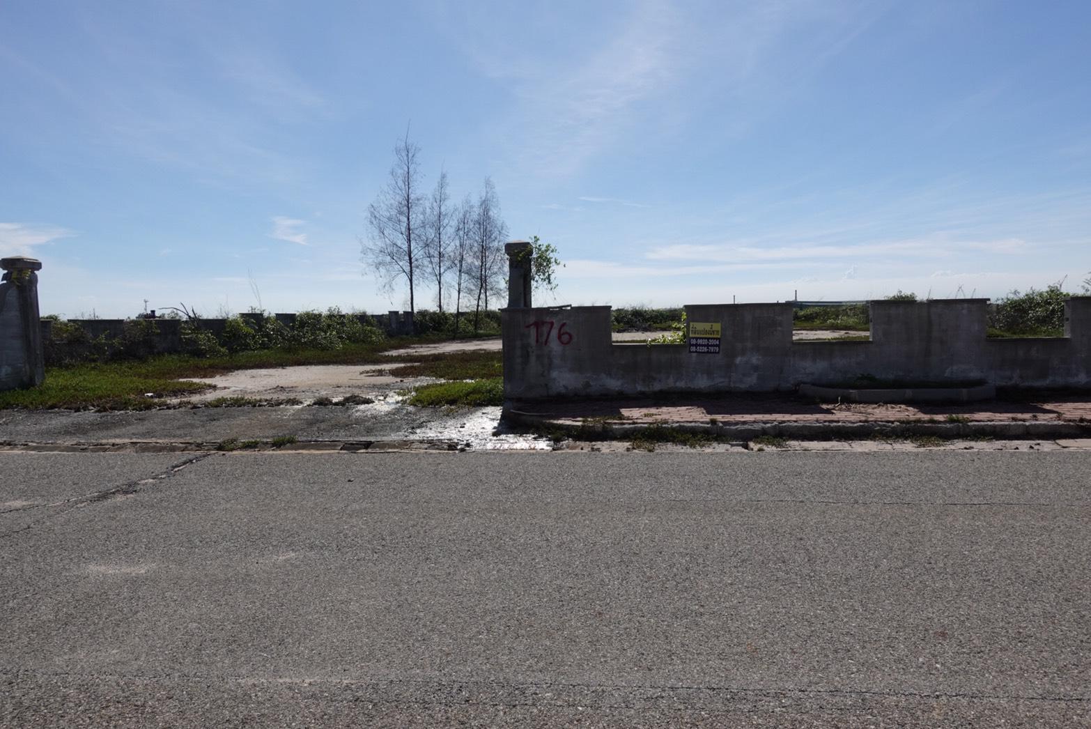 ขายที่ดินในโครงการเลคไซด์ วิลล่า 3 อ.บางปะกง จ.ฉะเชิงเทรา