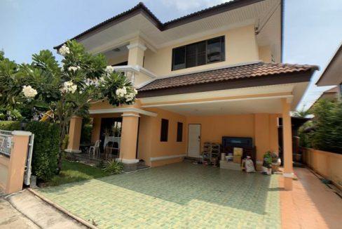 ขาย บ้านเดี่ยว 2 ชั้น มบ.ปิยวัฒน์ อ่างศิลา ชลบุรี