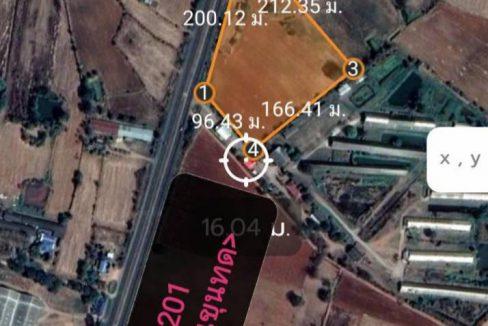 ขายที่ดิน โฉนดติดทางหลวงแผ่นดิน ทล.201 กม.ที่24 ถนนสีคิ้ว-ชัยภูมิ