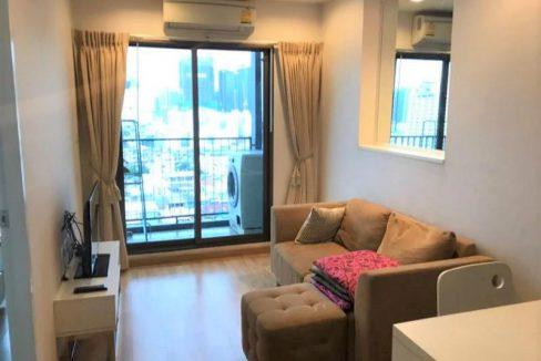 ให้เช่าคอนโด Casa อโศก - ดินแดง ชั้น 18 ใกล้ MRT พระราม 9