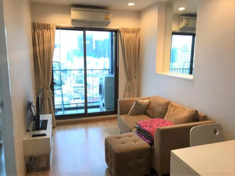 ให้เช่าคอนโด Casa อโศก – ดินแดง ชั้น 18 ใกล้ MRT พระราม 9