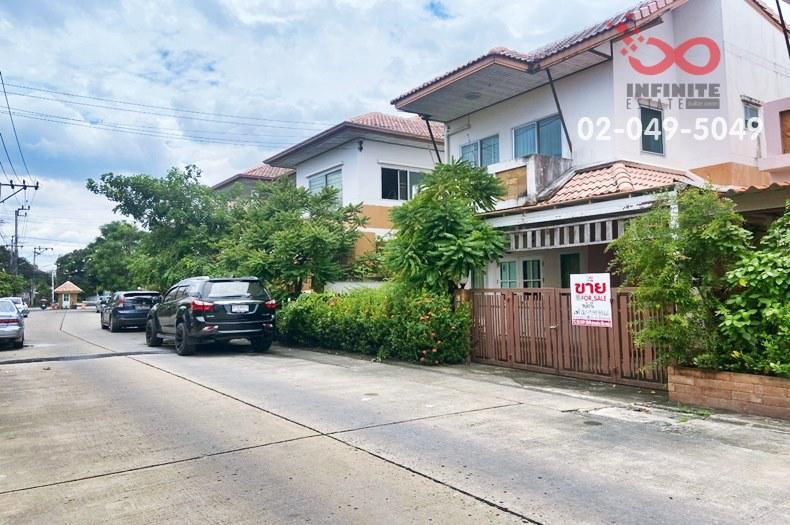 ขายบ้านเดี่ยว 2 ชั้น หมู่บ้านเจ ดับบลิว คาซ่า ถนนบางศรีเมือง1