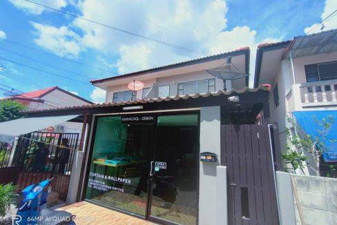 CH0013A ทาวน์เฮ้าส์ 2 ชั้น หมู่บ้านพระปิ่น 3
