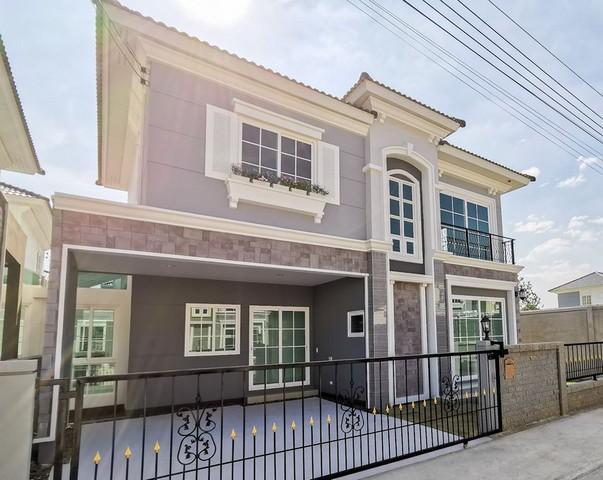 ให้เช่าบ้าน 2 ชั้น Golden Neo Sathorn บ้านหลังมุม พร้อมอยู่ 20-10-63 ใกล้BTSวุฒากาศ