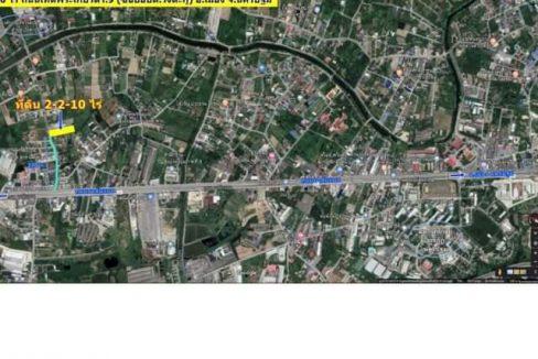 ขายที่ดินวังตะกู 2-2-10 ไร่ ห่างมาลัยแมน 200 เมตร