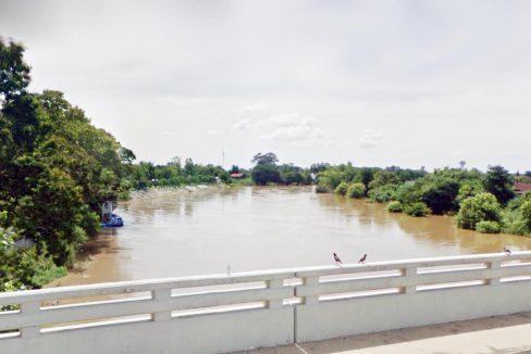 ขายที่ดินแปลงสวย 14 ไร่ ติดแม่น้ำเจ้าพระยากว่า 190 เมตร ริมฝั่ง อยุธยา