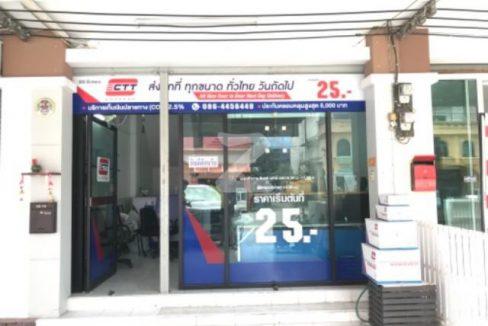 รหัสทรัพย์ 3083 ตึกแถว-อาคารพาณิชย์ ซอยปากซอย เสมาฟ้าคราม ถนนลำลูกกา