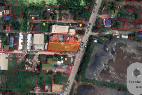 ขายที่ดิน ลำปลาทิว กรุงเทพ 0-3-55.0 ไร่ 15.5 ล้าน