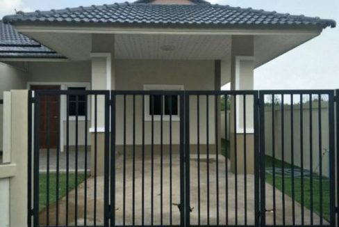 บ้านเดี่ยวสร้างใหม่ โครงการบ้านคงเปี่ยม พัทลุง