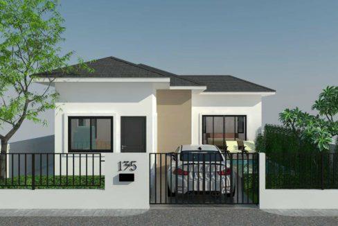 ขายบ้านใหม่ พร้อมสระว่ายน้ำ พื้นที่อาศัย 68 - 133 ตารางเมตร 2 ห้องนอน 1 ห้องน้ำ,3 ห้องนอน 2 ห้องน้ำ