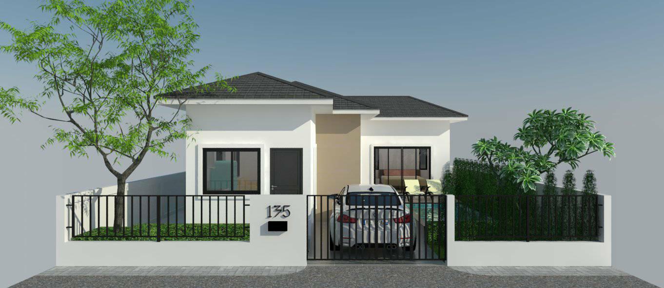 ขายบ้านใหม่ พร้อมสระว่ายน้ำ พื้นที่อาศัย 68 – 133 ตารางเมตร 2 ห้องนอน 1 ห้องน้ำ,3 ห้องนอน 2 ห้องน้ำ
