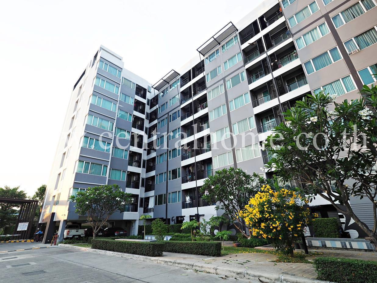 คอนโด สัมมากร เอสเก้า MRT สถานีบางรักใหญ่ ตึก A ชั้น 4