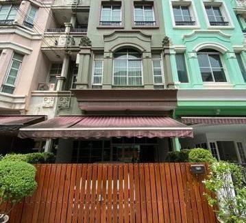 For Sale ทาวน์โฮมพร้อมอยู่ บ้านกลางเมือง The Paris รัชวิภา ใกล้ทางด่วนประชาชื่น