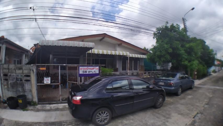 PK46 ขาย บ้านเดี่ยวชั้นเดียว หมู่บ้าน ทวีสุข (นาริสา) ใกล้นิด้า เสรีไทย 29 พร้อมยื่นสินเชื่อให้ฟรี