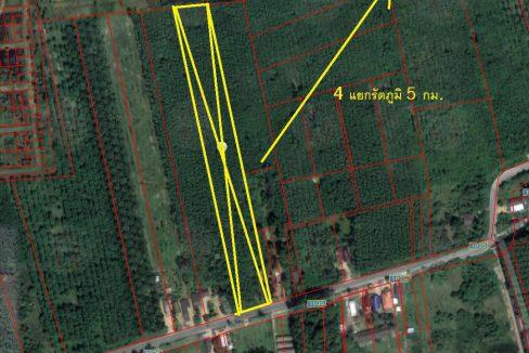 (A 0096) ขายที่ดิน ต.กำแพงเพชร อ.รัตภูมิ จ.สงขลา ขนาด 9 ไร่ 82 ตรว. เป็นสวนยาง