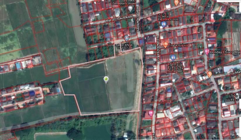 V&C L#00003-ที่ดินเปล่า 12-3-42 ไร่ ต.ช้างเผือก อ.เมือง จ.เชียงใหม่