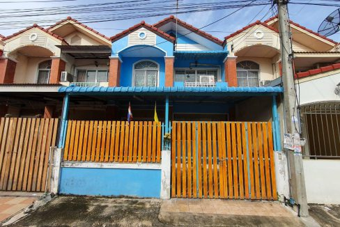 ขายทาวน์เฮาส์ 2 ชั้น หมู่บ้านสิวารัตน์ 5 สามพราน-นครปฐม