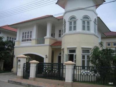 บ้านเดี่ยว 2 ชั้น หมู่บ้านภัสสร 4 รังสิต คลอง 3