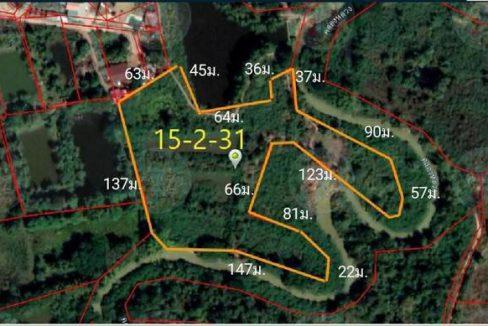 ขายที่ดินติดคลอง 15-2-31ไร่ ซอยทางหลวงชนบท อด. จังหวัดอุดรธานี