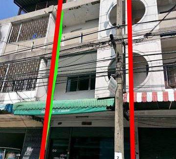ขายอาคารพาณิชย์ หมู่บ้านจิรธร 4 ชั้น ซอยรามคำแหง 152