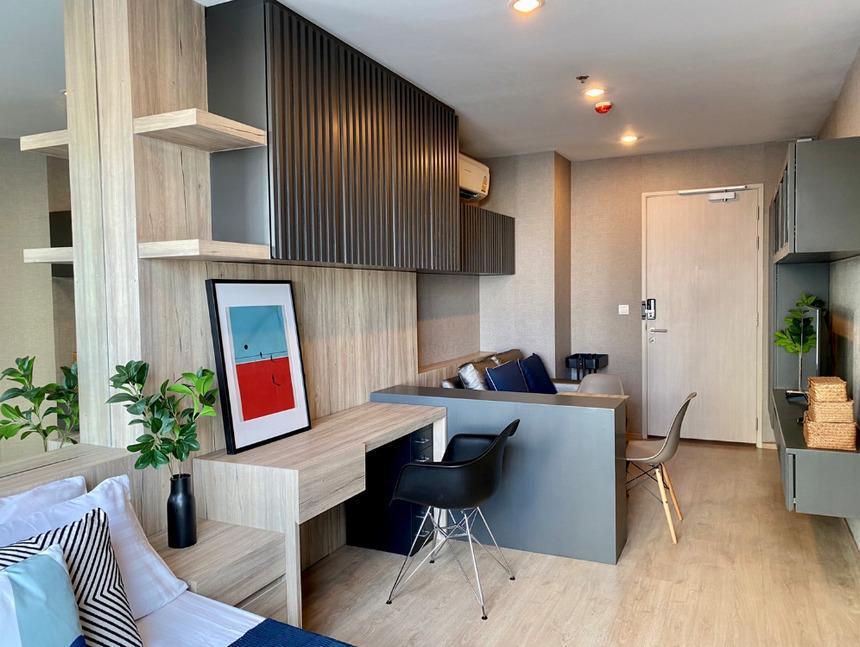HOT ให้เช่าคอนโด Ideo Q Chula-Samyan ชั้น 11 ใกล้ MRTสามย่าน