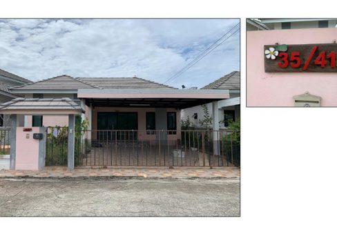 ขายบ้านเดี่ยว ตำบลสำนักบก อำเภอเมืองชลบุรี จังหวัดชลบุรี
