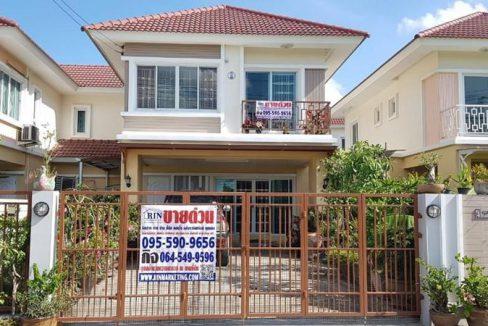 R041_010 ขายด่วน บ้าน 2 ชั้น หมู่บ้านเจียระไน 8 4 ห้องนอน 3 ห้องน้ำ 48 ตร.ว.