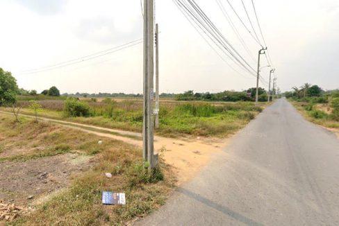 ขายที่ดิน 343 ตรว. ติดถนนสองด้าน ซอยสุวินทวงศ์ 64 หนองจอก กรุงเทพฯ