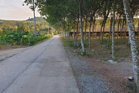 ที่ดิน ใกล้ถนน 344 บ้านหลังแกลง ราคาถูก