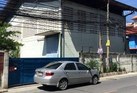 For Rent โกดังพร้อมออฟฟิศ ย่านถนนติวานนท์ นนทบุรี