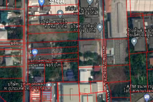 ขายที่ดิน 3-0-12 ไร่ ถนนพระราม 2 ซอย 30 เข้าซอยเพียง 300ม. แขวงจอมทอง เขตจอมทอง กรุงเทพ