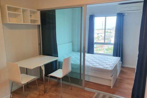 ให้เช่าคอนโด The Parkland Rayong 1 ห้องนอน ชั้น 7