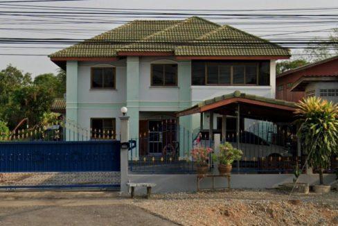 บ้านพร้อมที่ดินติดถนนทางหลวงแผ่นดิน 12 อ.เมือง สุโขทัย 170 ตารางวา