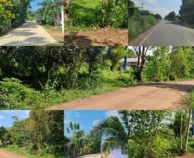 ขายที่ดิน เนื้อที่ 5 ไร่ 3 งานกว่า ติดถนนคอนกรีต ที่ดินอยู่ในหมู่บ้าน มีเพื่อนบ้านเยอะ ตั้งอยู่ที่ตำบลคำโตนด อำเภอประจันตคาม จังหวัดปราจีนบุรี
