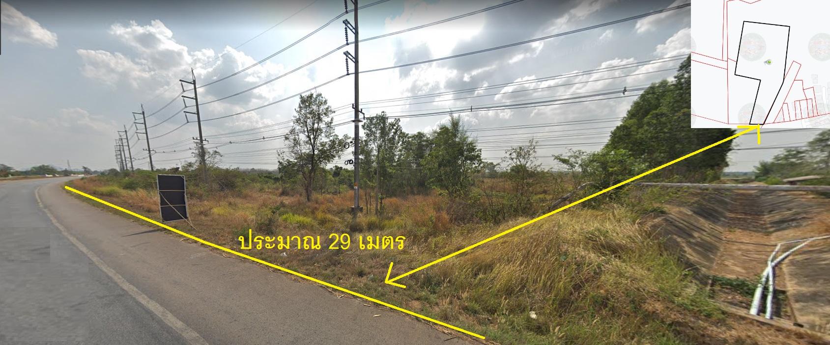 ขายถูกที่ดินเปล่า 9 ไร่ 166 ตรว ติดทางหลวงแผ่นดินจันทบุรี-สระแก้ว ใกล้แยกสระขวัญ