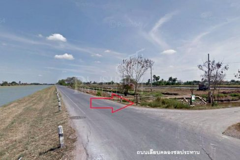 ที่ดิน 10 ไร่ 325 วา บางใหญ่ แค่ไร่ละ 4 ล้าน ทรงสวยใช้งานง่าย ใกล้ถนนเลียบคลองชลประทาน