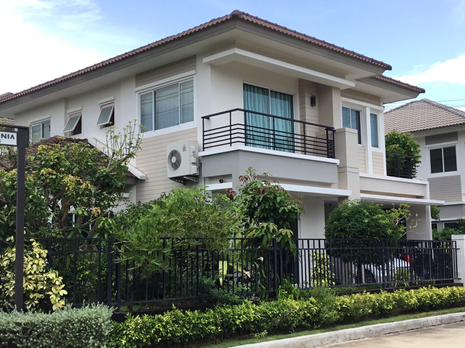 ขายด่วน !!! บ้านเดี่ยว 2 ชั้น ราคาถูก หลังมุม สภาพดีมาก เดอะแกรนด์ พระราม 2 โซนอินฟีเนีย พื้นที่ 72.4 ตรว.