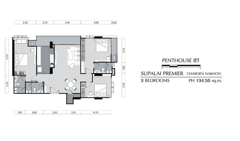 penthouse layout